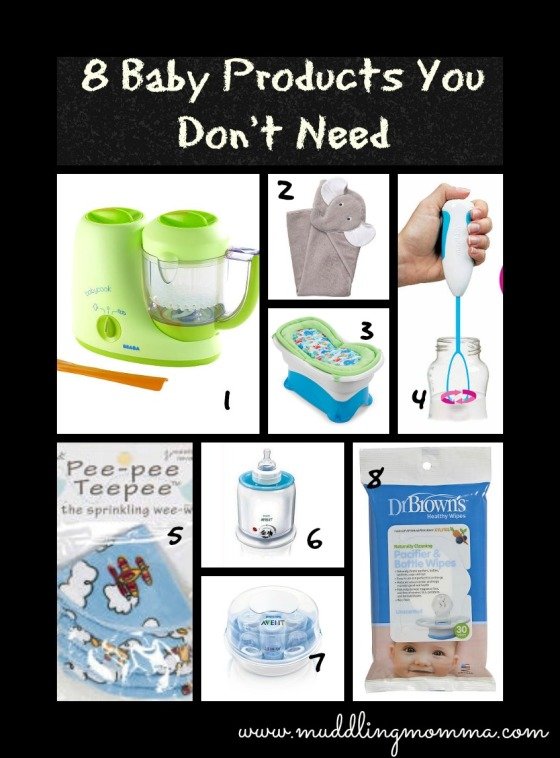 baby products to avoid