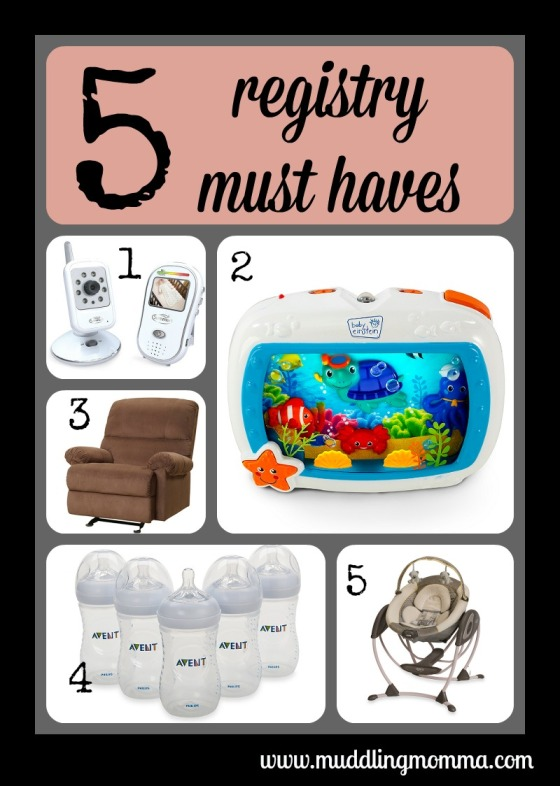 registry must haves