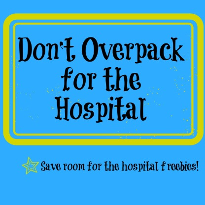 overpack for the hospital